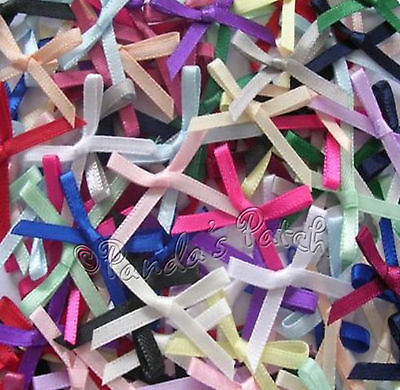 3mm Satin Ribbon Bows