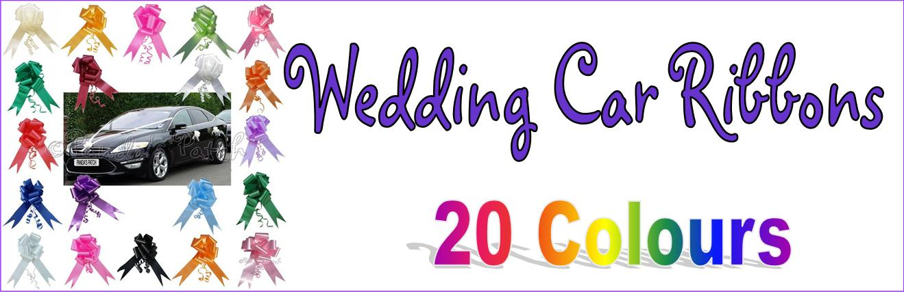 Wedding Car Ribbon Kits